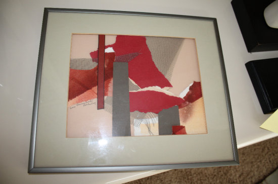 """Framed and Matted """"Amy Rahlinburg"""" Art 14""""x12"""""""
