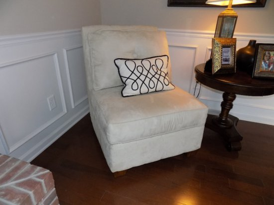 Ashley furniture upholstered chair