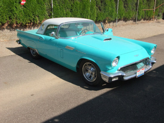 1957 T-Bird Restored To Pro Touring Standards