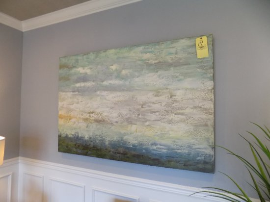 (2) Pieces of canvas art