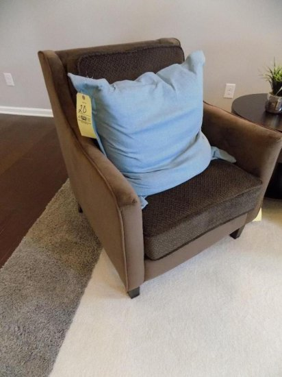 Coaster upholstered arm chair