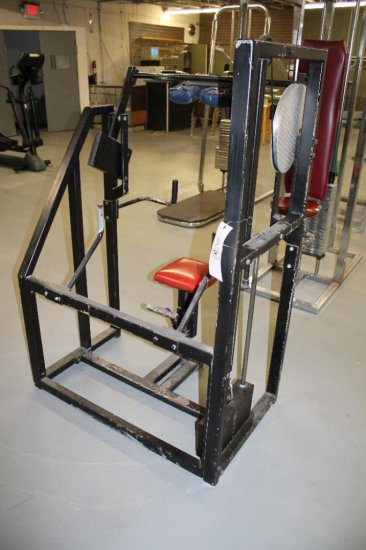 Neck Machine With 7 Weight Plates