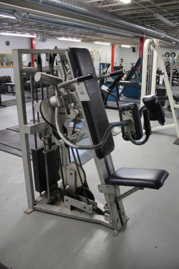 Nautilus Side Lateral and Shoulder Press Machine 19 Weight Plates