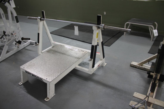 Body Masters A552 Platform Rack With Bar