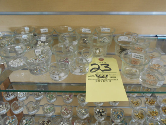 Crystal beads and findings