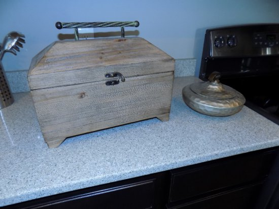 Storage Box And Covered Candy Dish