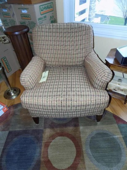 C.R. Laine upholstered arm chair