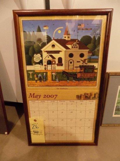 Wysocki 2007 calendar