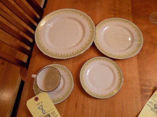 Franciscan china set