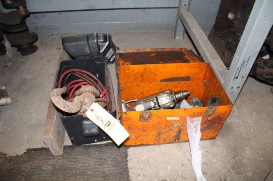 Block Pulley & Jumper Cables
