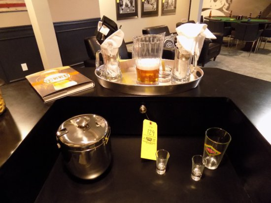 Bar items and glasses