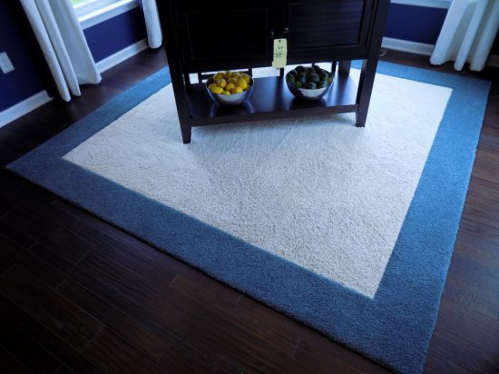 Two toned area rug