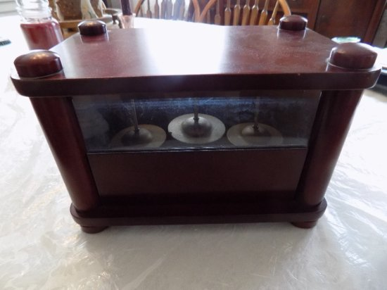 Music box with cherry case