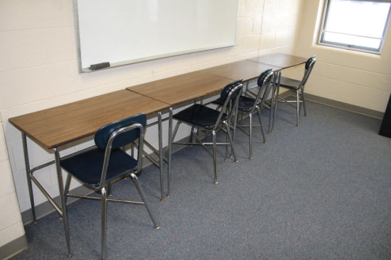 4 Student Tables and Chairs