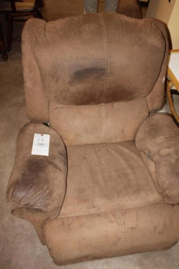End Table & Microfiber Recliner