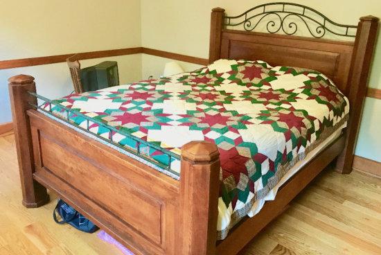 Heavy Queen Size Poster Bed