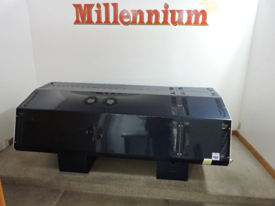 MIllenium Tanning Bed With Face Tanning Panels