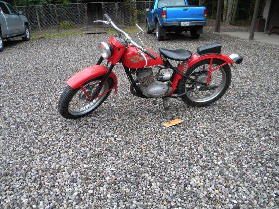 1960 Harley Davidson Hummer
