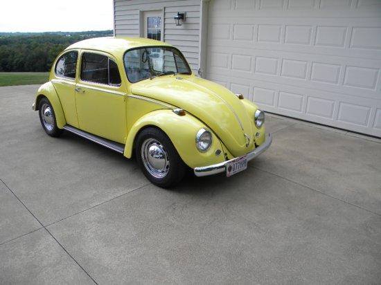 1967 Volkswagen Beetle.