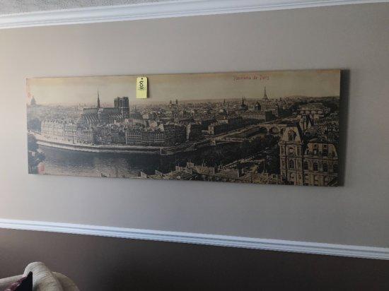 """Panorama Paris wall print approx. 96""""x30"""""""
