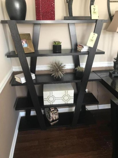 5' tall open bookshelf (contents NOT included)