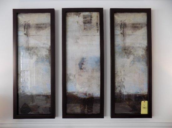 Set of (3) decor prints
