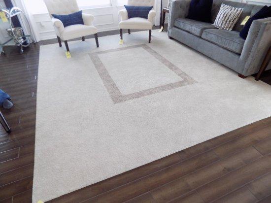 Custom-made area rug