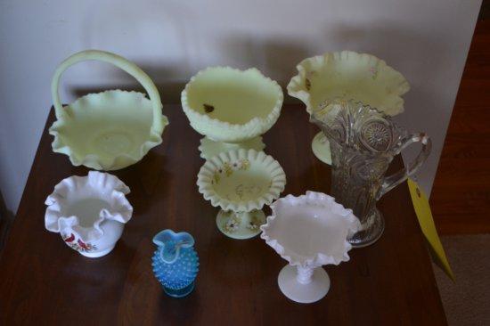 8 Pcs. Of Glassware
