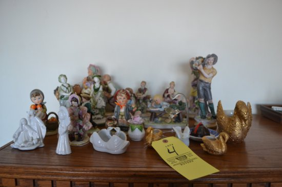 Figurines & Swans