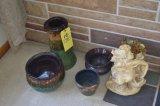 Spittoon - Pedestal Vase - Figurine