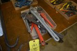 Box Of Pipe Wrenches