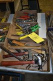 3 Boxes Of Hammers & Shears