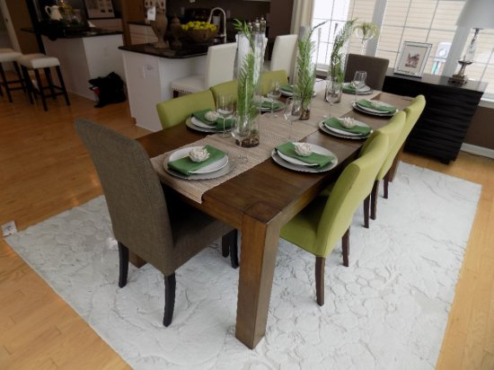 Dining Room Table with (8) Chairs