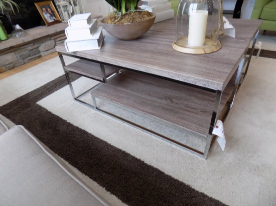 Coaster Coffee Table with Shelves