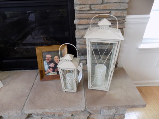 Lantern Candle Holders and Frame