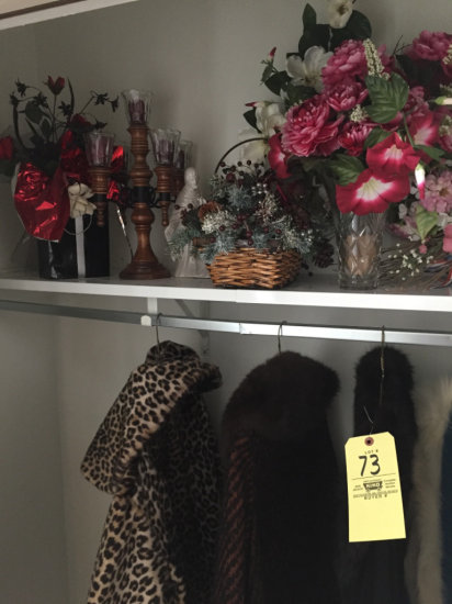 Ladies Coats & Closet Items