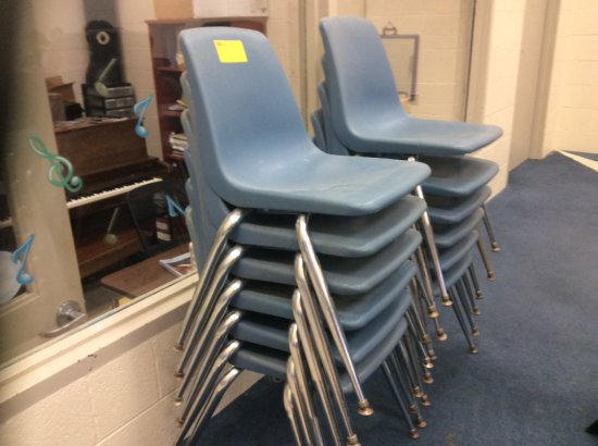 12 stack chairs