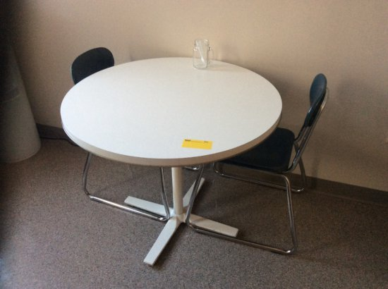 Small table with two chairs