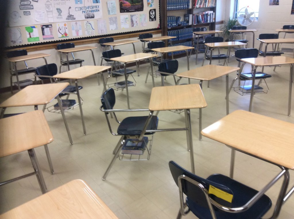 28 student desks