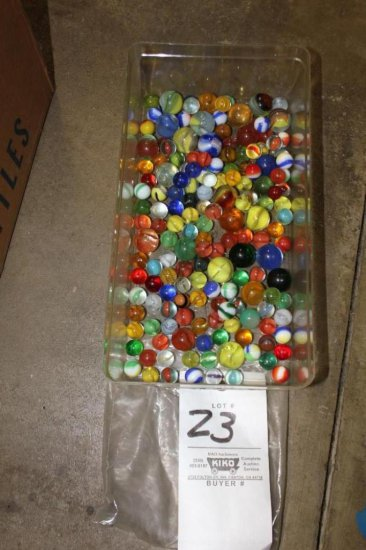 Marbles incl. some shooters