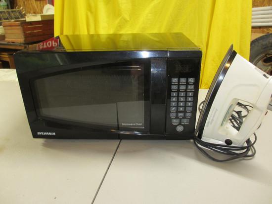Sylvania Microwave, Proctor Silex Iron
