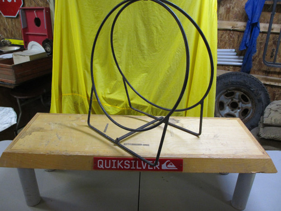 QuickSilver Bench, Small Firewood Ring