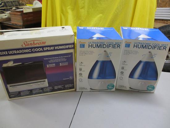 3 Humidifiers