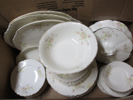 W.S George Dishes