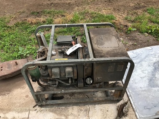 Military 4 Cylinder Generator