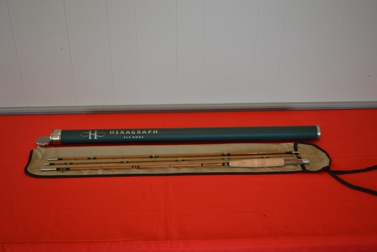 Hexagraph Fly Rod