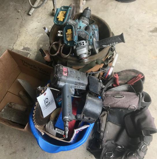 Tool Bucket, Tool Bag & Misc. Tools