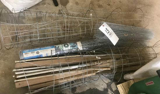 50' x 36' Chicken Wire & Tomato Wire