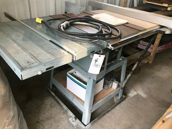 """Delta 10"""" Table Saw With Stand"""