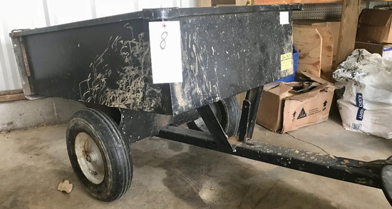 2-Wheel Dump Lawn Cart